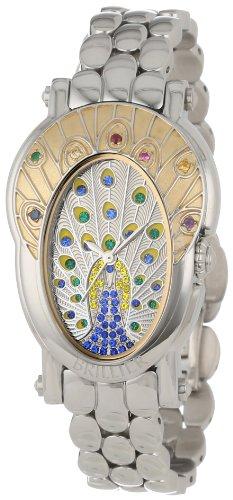 Ladies Blue Sapphire Gemstone Quartz Watch
