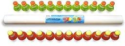 Speedminton Mixed Speeders tube of 24 (12 Fun/ 12 Match)