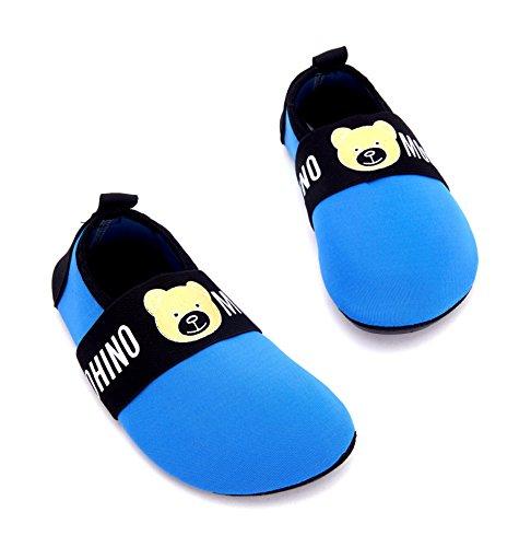 Giotto Enfants Nager Chaussures De Leau À Séchage Rapide Anti-dérapant Pour Les Garçons Et Les Filles F-bleu