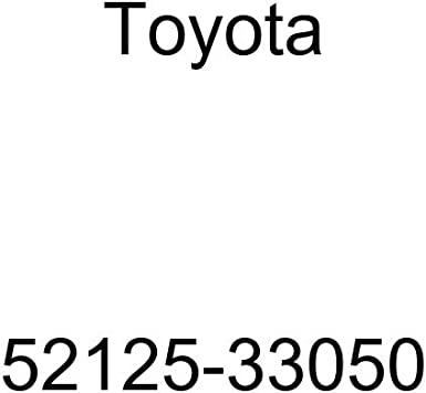 Genuine Toyota Parts 52125-33050 Passenger Side Front Bumper Cover Reinforcement