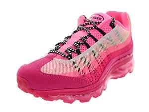WMNS AIR MAX 95 DYN FW - Womens Running Sneaker - Style : 553554 - 553554 050 (11, Cool Grey/Laser Purple-Cool Grey-Stadium Grey : 553554 050)