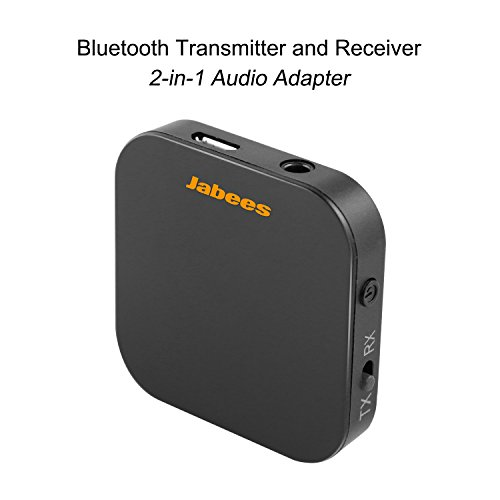 New Jabees B-Link Bluetooth 4.1 TV Transmitter and Receiver 2-in-1 Wireless Audio Adapter, atpX Low ...