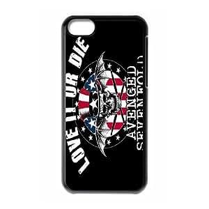 Avenged Sevenfold theme pattern design For Apple iPhone 5C Phone Case