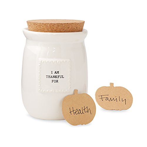 Mud Pie Thankful Blessings Jar]()