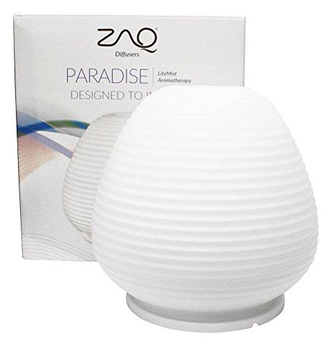 ZAQ Paradise Glass Litemist Aromatherapy Essential Oil Ar...
