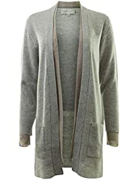 Luc Layered Cardigan in Mist Combo
