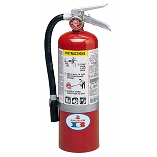 5 lb ABC Stard Line Extinguisher w Wall Hook 22435 Fire Safety Detection