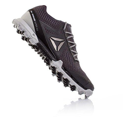 Reebok Herren Bd1585 Trail Running Schuhe Grau (Ash Grey / Black / Skull Grey / Pewter)
