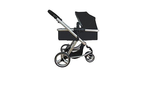 Star Ibaby Go Baby UP - Cochecito de bebe con silla, capazo y burbuja de lluvia, color negro: Amazon.es: Bebé