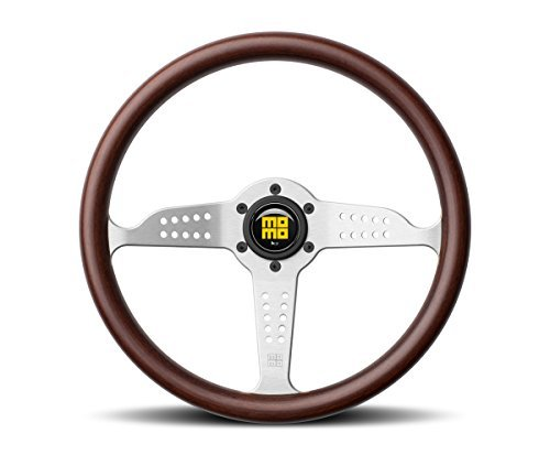 MOMO Steering Wheel Heritage Grand Prix Mahogany Wood 350mm NEW GRA35WDOB