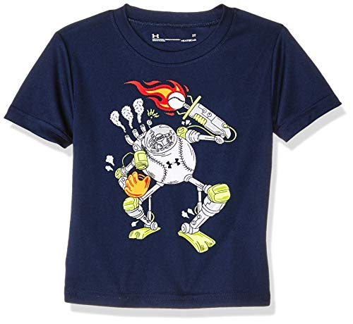Under Armour Boys' Toddler Graphic SS Tee, Academy ()