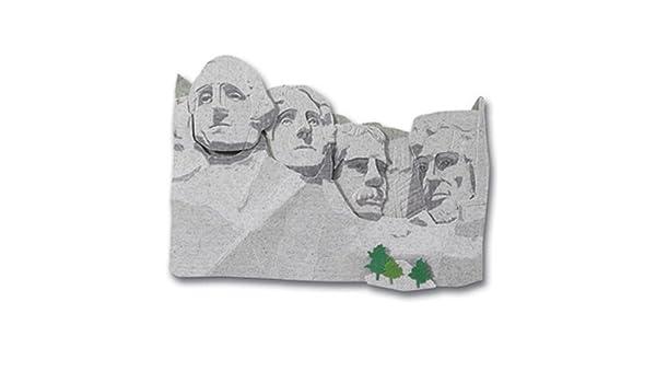 Jolee/'s MOUNT RUSHMORE 3d Scrapbook Sticker