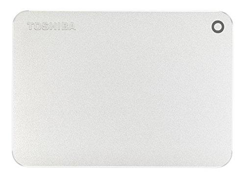 Toshiba Canvio Premium 2TB Portable External Hard Drive USB 3.0, Silver (HDTW220XS3AA) by Toshiba (Image #1)