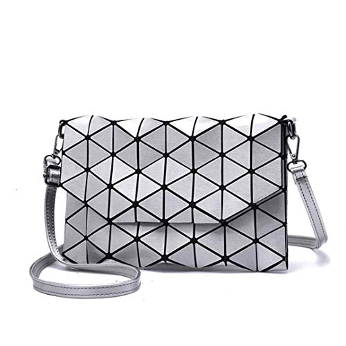Donna Geometry Borsa Casual Clutch a Geometric Deep Blue Tote tracolla Borsa Messenger Bags Shoulder Luminosa Diamond Yvbyg76f