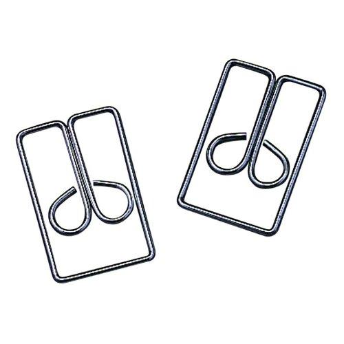 acco-3-regal-owl-clips-steel-wire-1-inch-length-silver-100-clips-per-box-a7072130