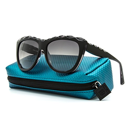 Alain Mikli Sunglasses AL 1408 0101 Black Frame / Grey Gradient - Alain Mikli Sunglasses