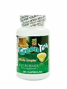 Amazon Com Green Tea Fat Burner Quemador De Grasa Te