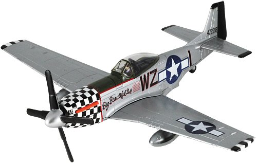 Scale Airplane Replica (Smithsonian Museum Replica Series P-51 Mustang 1/48 Scale Smithsonian Replica Series)