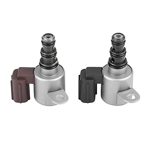 (Cuque Transmission Shift Control Solenoids Valve B&C Set for Honda Acura 28400-P6H-013 28500-P6H-013)
