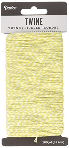 (Darice White and Yellow Twine 100 Yard (30029482))