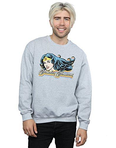 Gris Comics Entrenamiento Sport Camisa Wonder De Dc Smile Woman Hombre 8wxdFP4