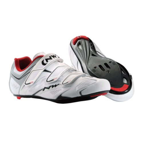 taille chaussures argent sonic blanc rouge 3s Northwave de 43 paire pqwxWA8