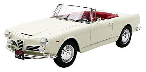 Cult Models – 2600 Spyder Touring Alfa Romeo Fahrzeug Miniatur, cml039 – 1, weiß, Maßstab 1/18