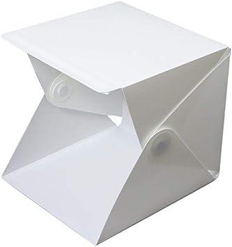 ZXYWW Caja de luz para fotografiar la Carpa de Tiro, Caja de Estudio fotográfico portátil con 35 Piezas de luz LED para joyería y artículos pequeños.: Amazon.es: Electrónica