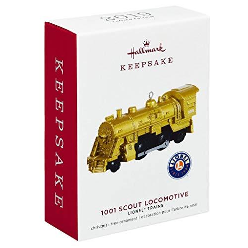 Hallmark Lionel Trains 1001 Scout Locomotive Metal Ornament Transportation