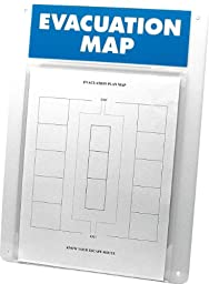 Brady EvacU8 Prinzing Evacuation/map display (1 Each)