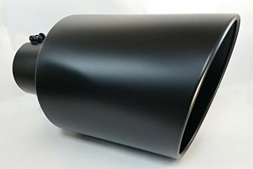 Diesel exhaust outlet powder coated