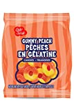 Lady Sarah Gummy Peach Rings 120G Per Bag