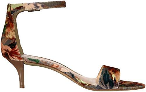 Occidentali Tessuto Leisa Delle Taupe Chiaro Multi Nove Sandalo Donne Grigio Medio qU7w7XFd