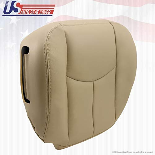 2003-06 Chevy Tahoe Suburban Synthetic Leather seat OEM Replacement 522 Tan (Driver & Passenger Bottoms)