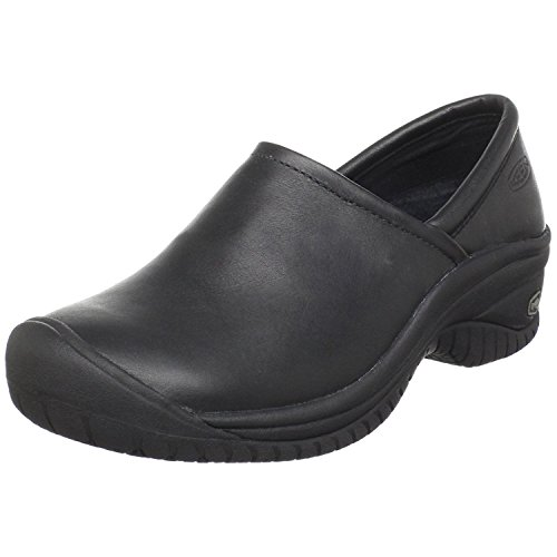 KEEN Utility Women's PTC Slip On II Work Shoe, Black, 37.5 B(M) EU/4.5 B(M) UK