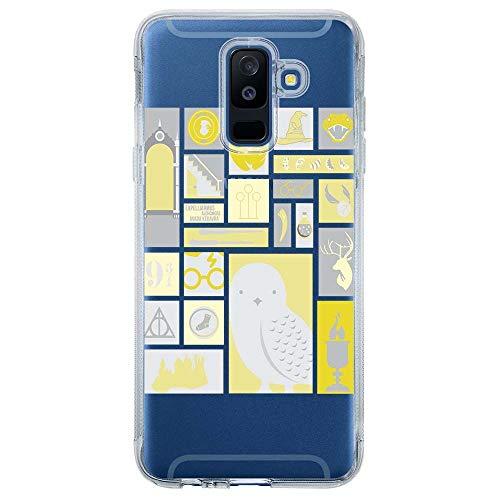 Capa Personalizada Samsung Galaxy A6 Plus A605 Harry Potter - HP03