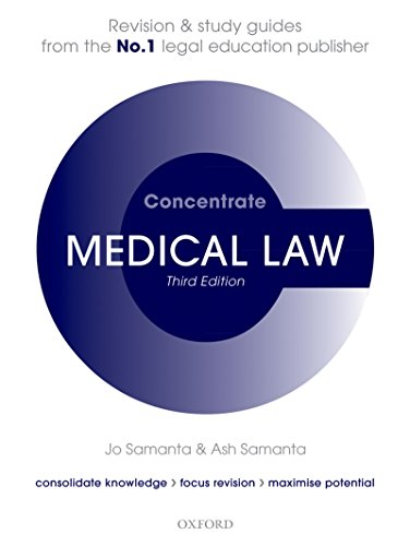 Medical Law Concentrate: Law Revision and Study Guide (The Law Of Healthcare Administration Eighth Edition)