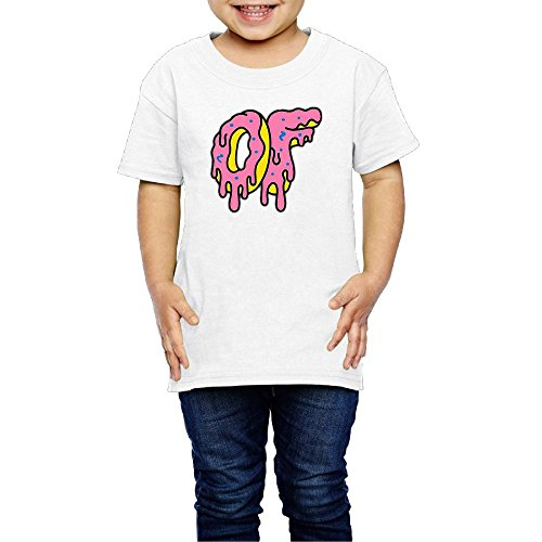 Xuyongfei Toddler Odd Futrue Metling Donuts 2 6 Years Old Kid T Shirts Clothes Tee