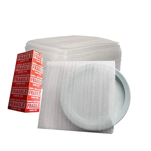 """Offitecture 12"""" x 12"""" Foam Pouches, 50-Pack"""