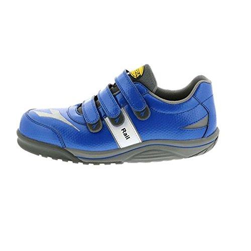 (セーフティシューズ DIADORA ディアドラ) RAIL(レイル) RA-44 (カラー) ブルー/ブルー (サイズ)27.5cm EEE B077JLSJ5L
