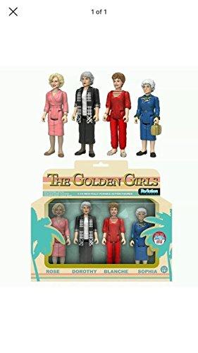 Funko Golden Girls ReAction Rose, Dorothy, Blanche & Sophia
