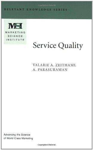 zeithaml services marketing - 7