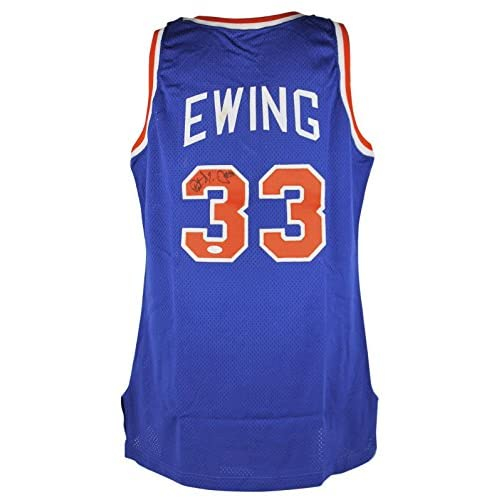 best service 07aaf 5640f Knicks Patrick Ewing Signed 90-91 Champion Game Used +4 ...