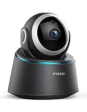 IP Kamera,720p FREDI HD Überwachungskamera Babyphone WiFi IP Camera hundekamera Haustier Kamera mit Bewegungserkennung Nachtsicht 2 Weg Audio für Haustier Überwachung Indoor
