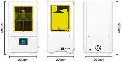 Z.L.FFLZ Impresora 3D Impresora 3D de fotocurado UV, Ultra ...
