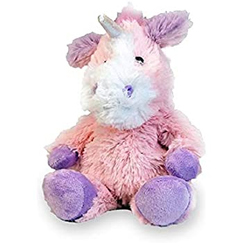 Intelex Warmies Microwavable French Lavender Scented Plush Jr Unicorn