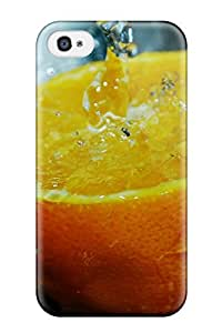 High-quality Durable Protection Case For Iphone 4/4s(orange)