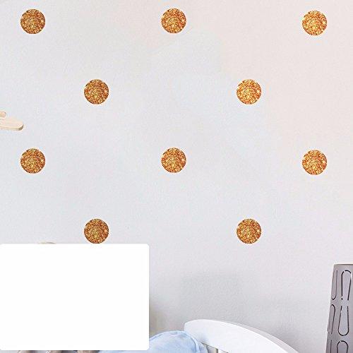 Portfolio Wallpaper - Continental wall dot wave portfolio flash Kim children's room decorated in a classroom wall paper, Copper