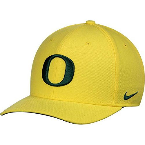 Oregon Ducks Nike Wool Classic Performance Adjustable Hat - Yellow