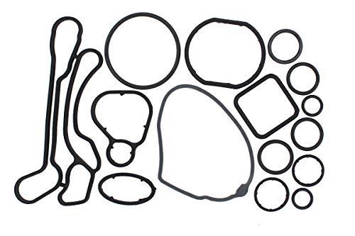 NewYall Engine Oil Cooler Gasket Seal O-Ring Full Set Kit